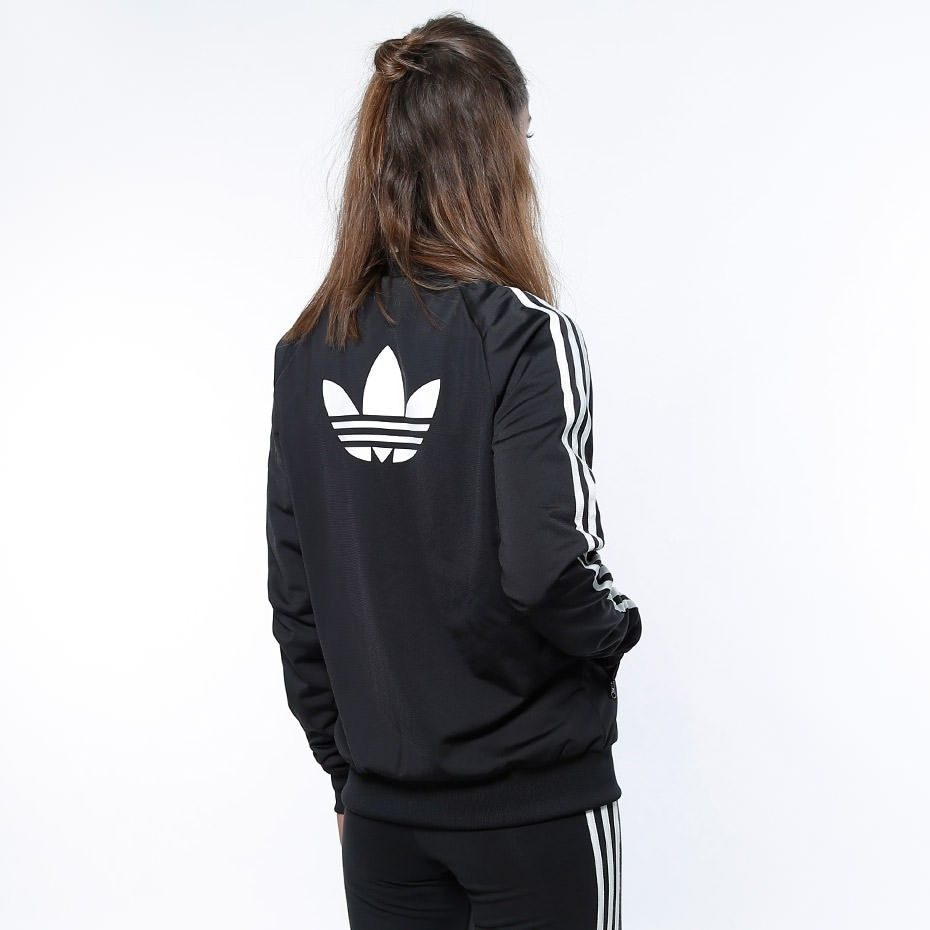 adidas Originals Zip Crew Long TT Black