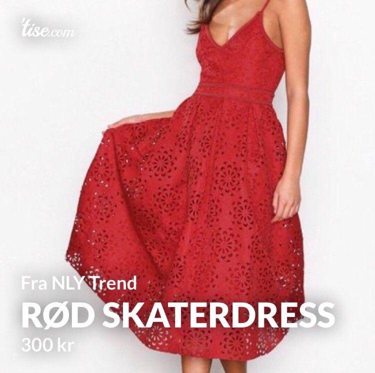 Rød kjole fra floyd | FINN.no