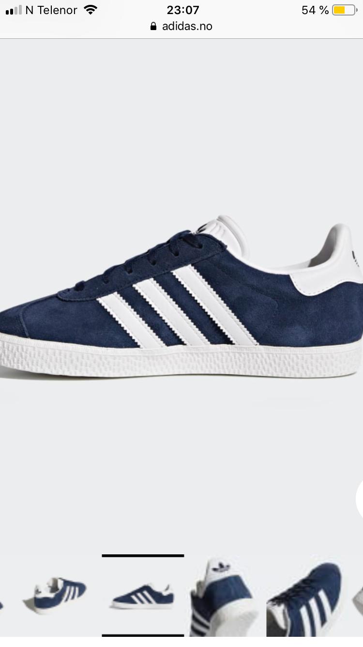 Nye Adidas sko 33 mørkeblå   FINN.no