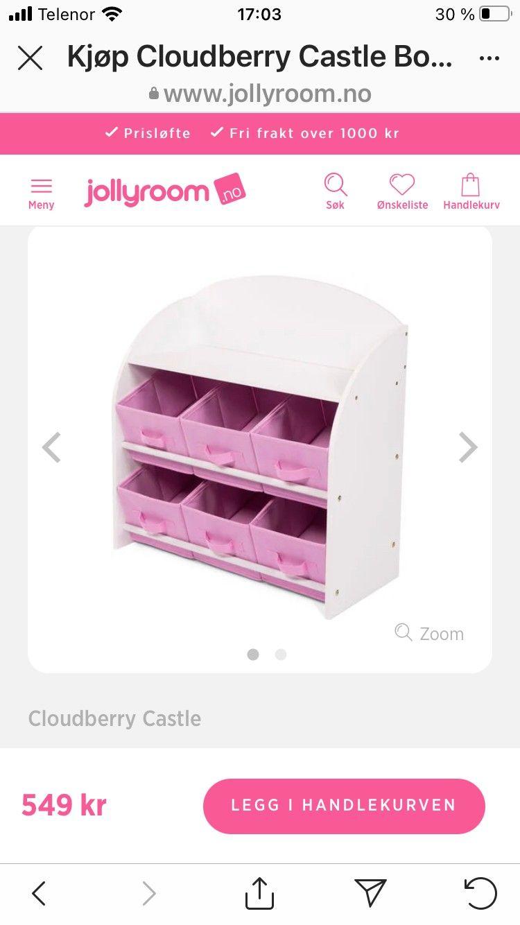 NY Cloudberry Castle stol | FINN.no