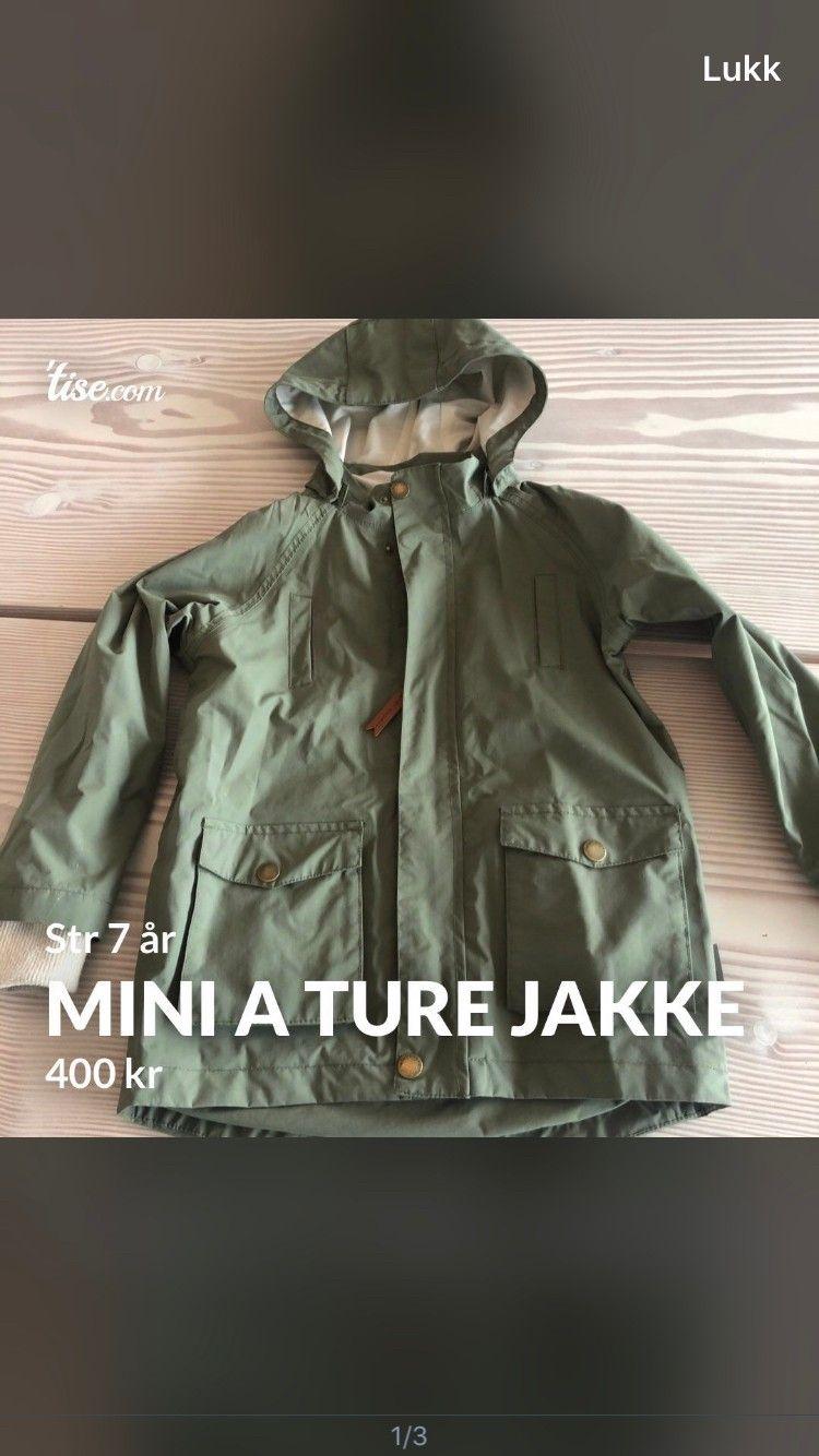 Mini a ture vinterjakke og bukse str 104 | FINN.no