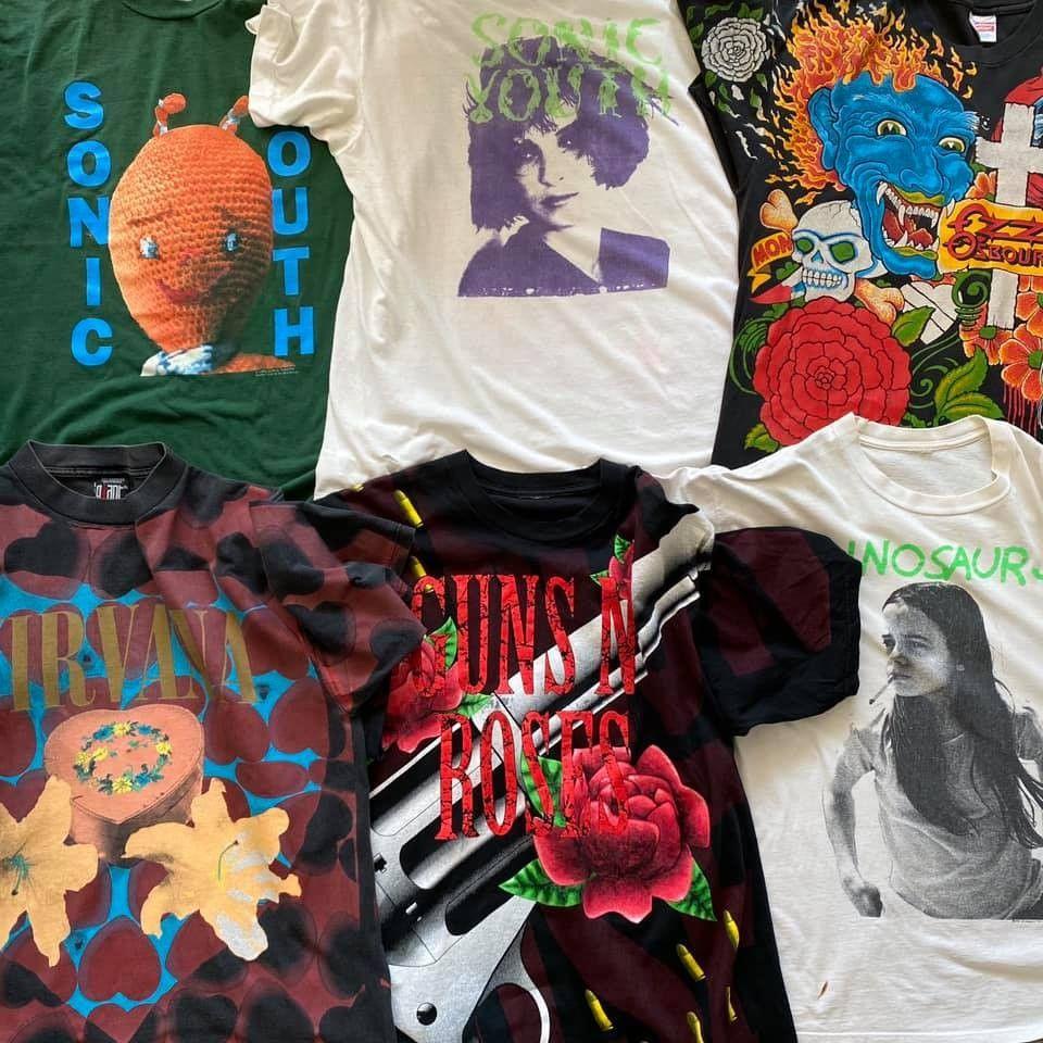 Band t skjorter selges! | FINN.no