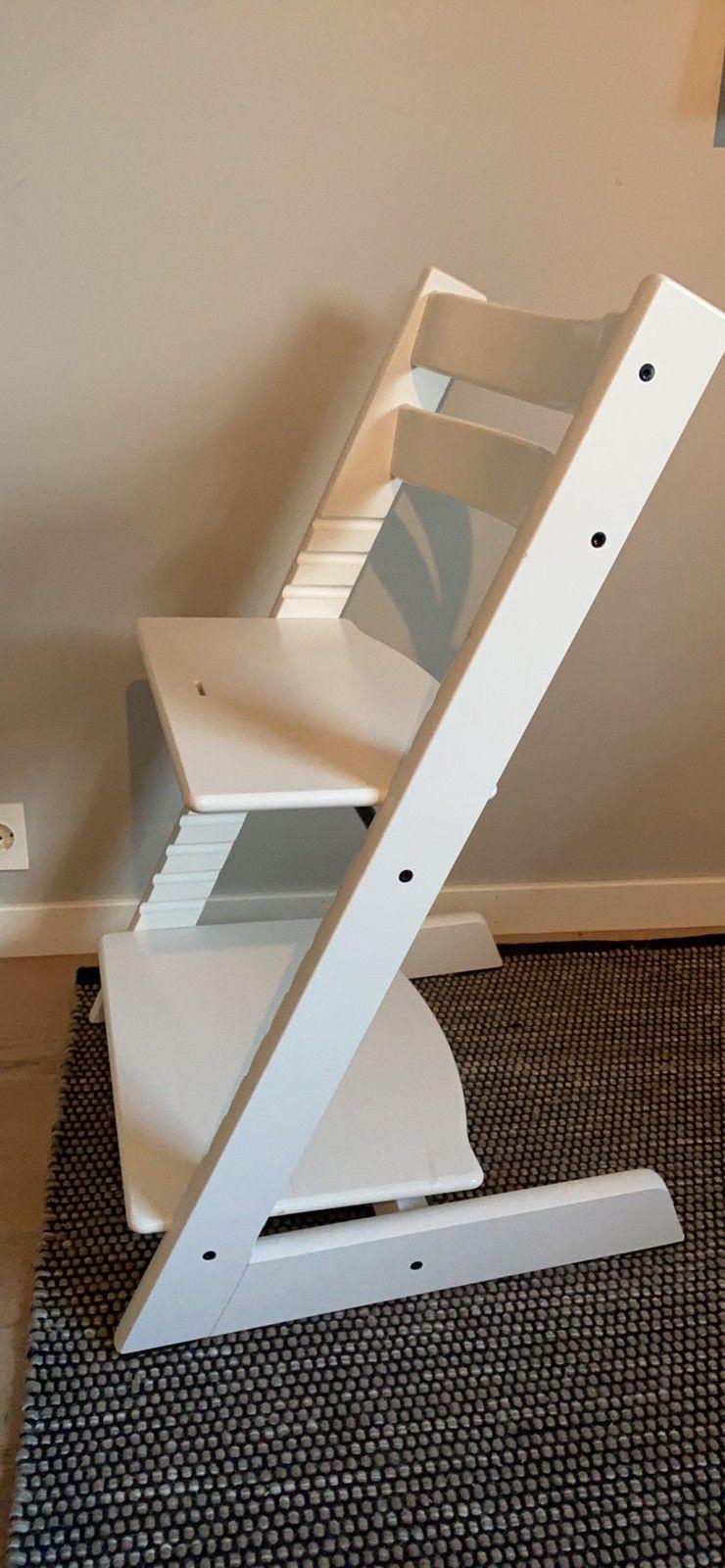 Komplett stokke tripp trapp i sort   FINN.no