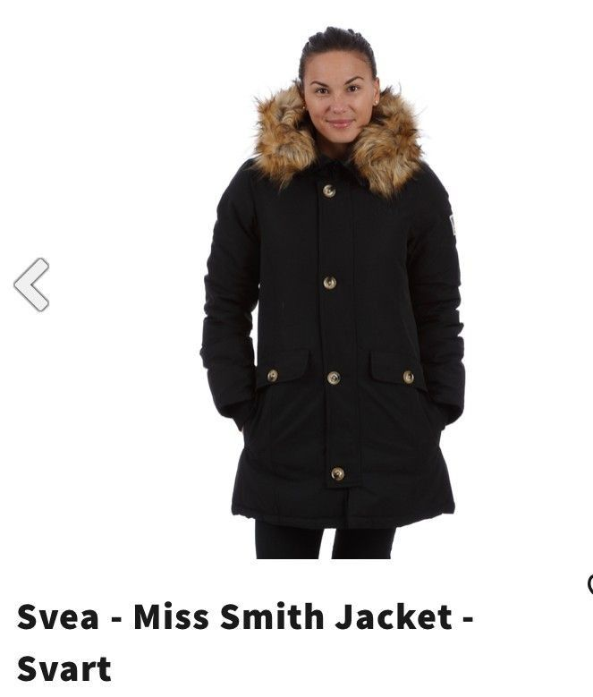 Svea Miss Smith svart jakke | FINN.no