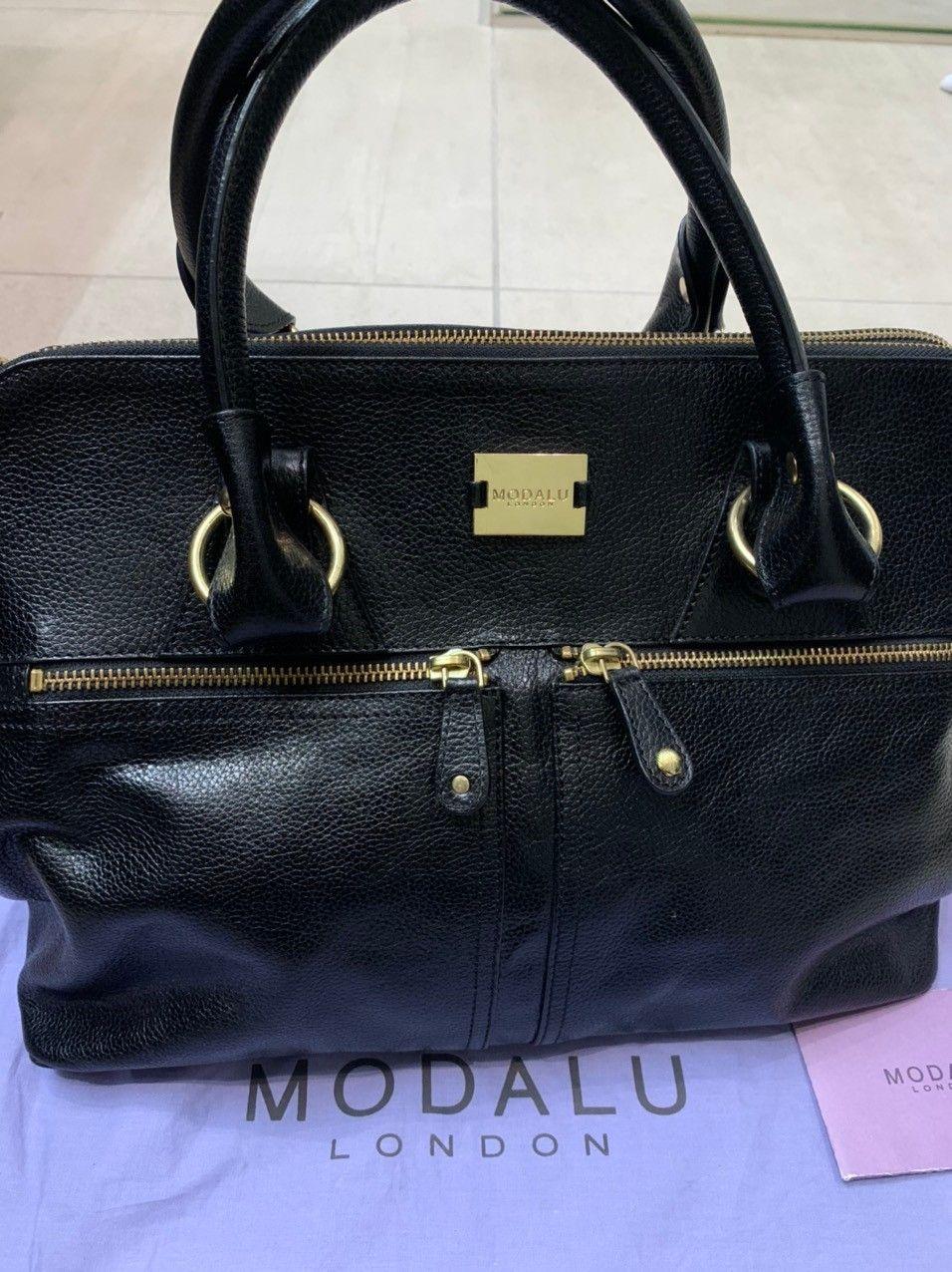 MODALU skinn veske med dustbag | FINN.no