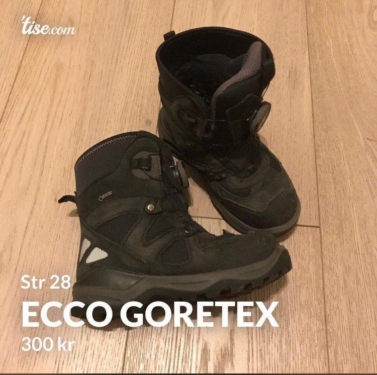 ECCO Gore Tex vintersko str 22   FINN.no