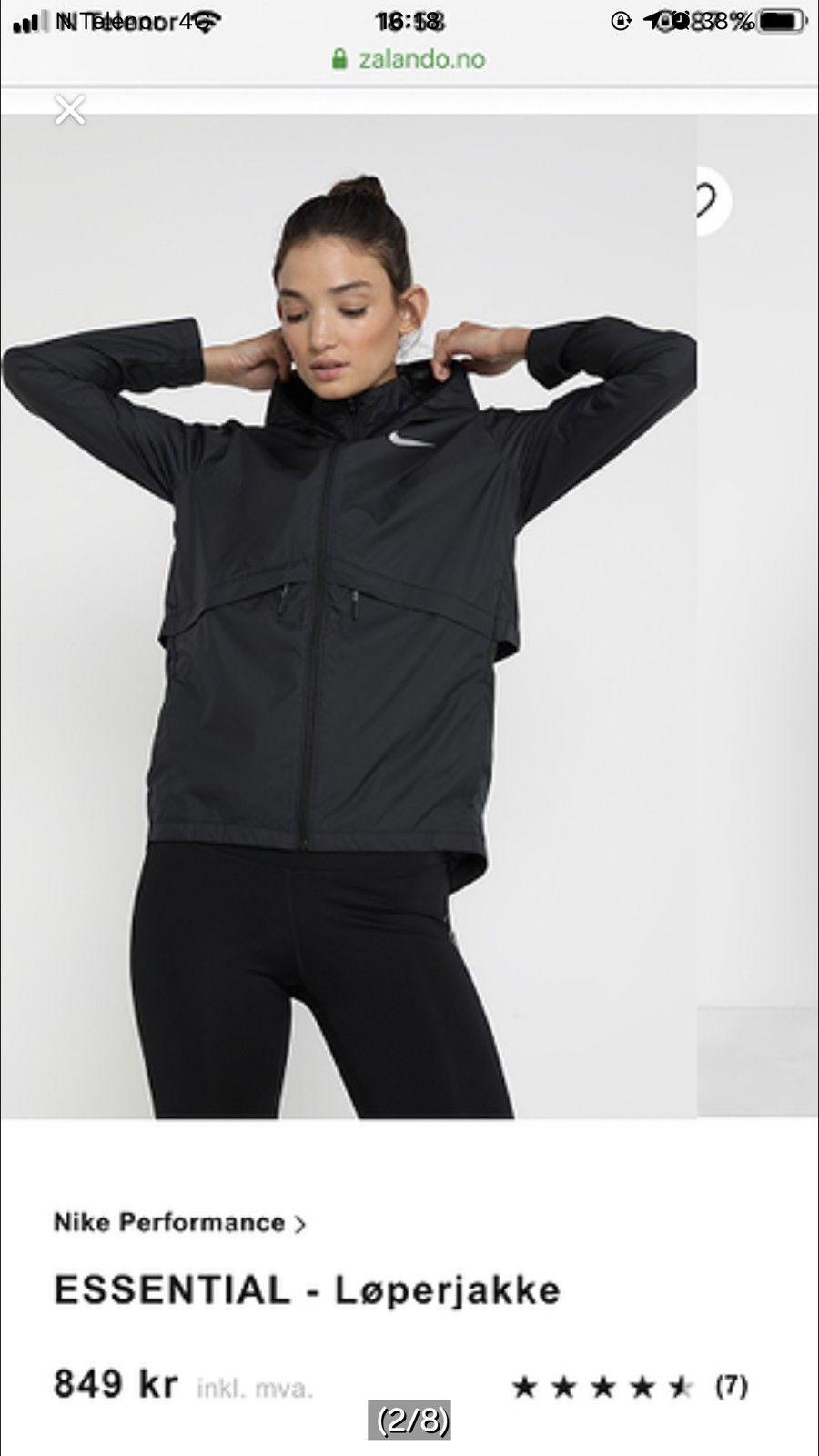 Ny løpejakke fra Nike | FINN.no
