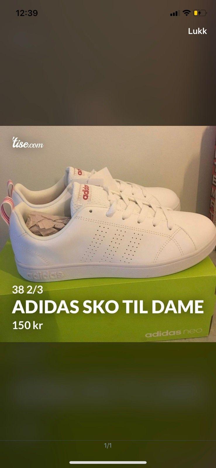 Adidas sko til dame | FINN.no
