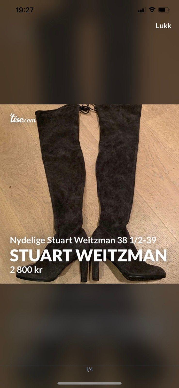 Stuart Weitzman støvletter   FINN.no