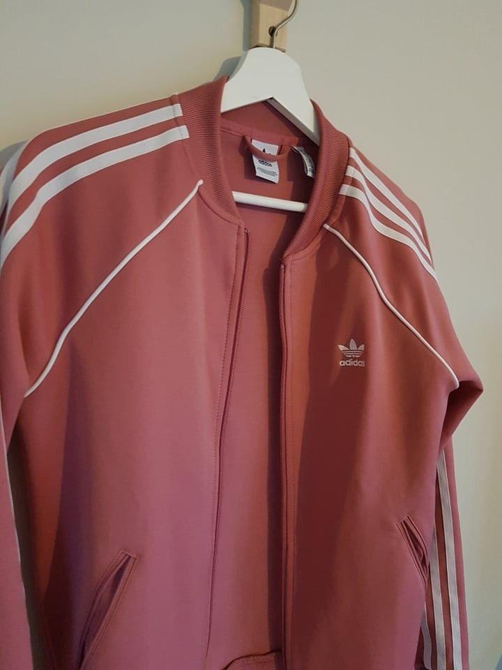 Lite brukt Adidas jakke (Rosa M) | FINN.no