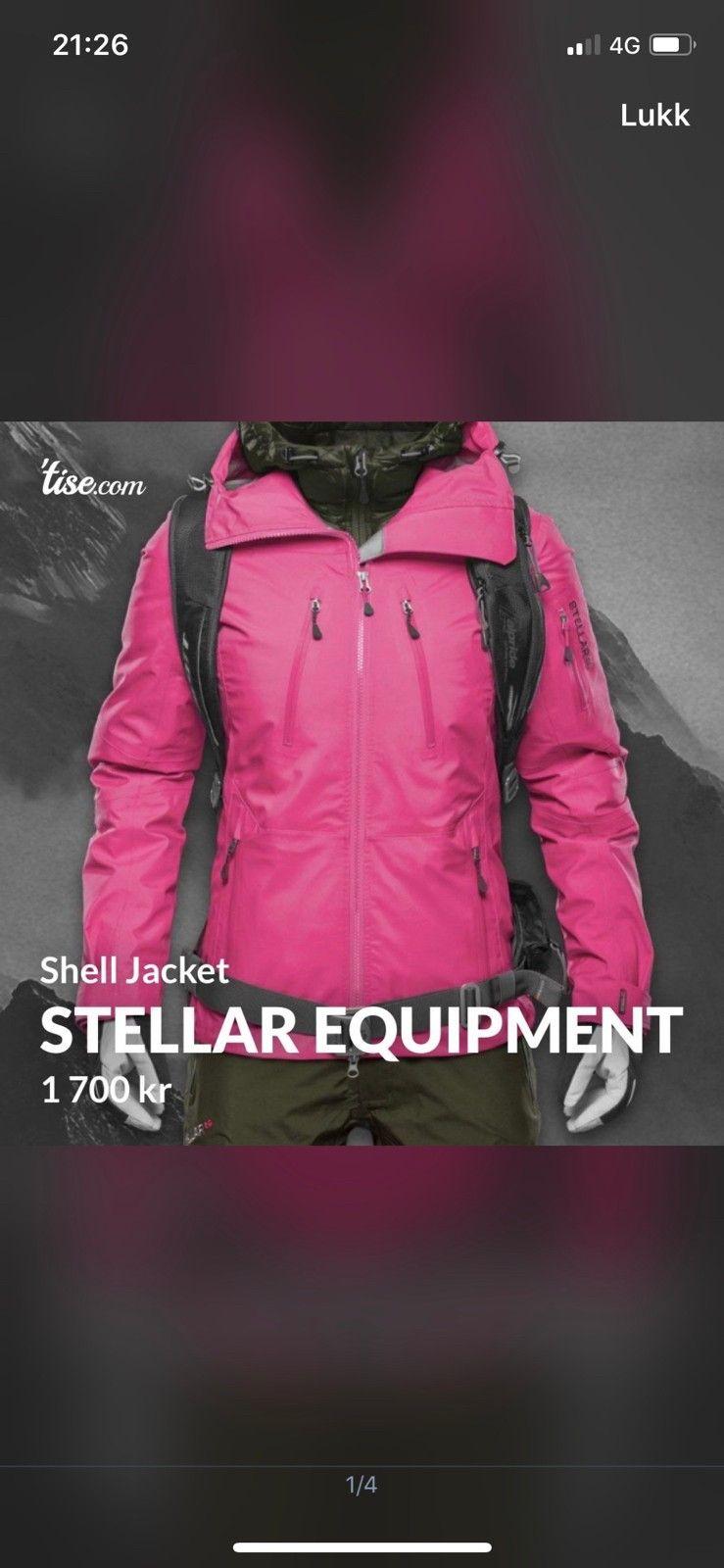 Stellar Equipment W Stellar Shell Pants | FINN.no