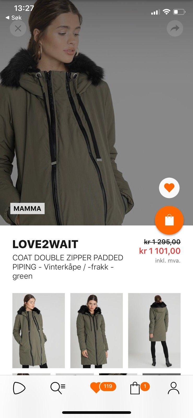 Gravid jakke mammajakke | FINN.no