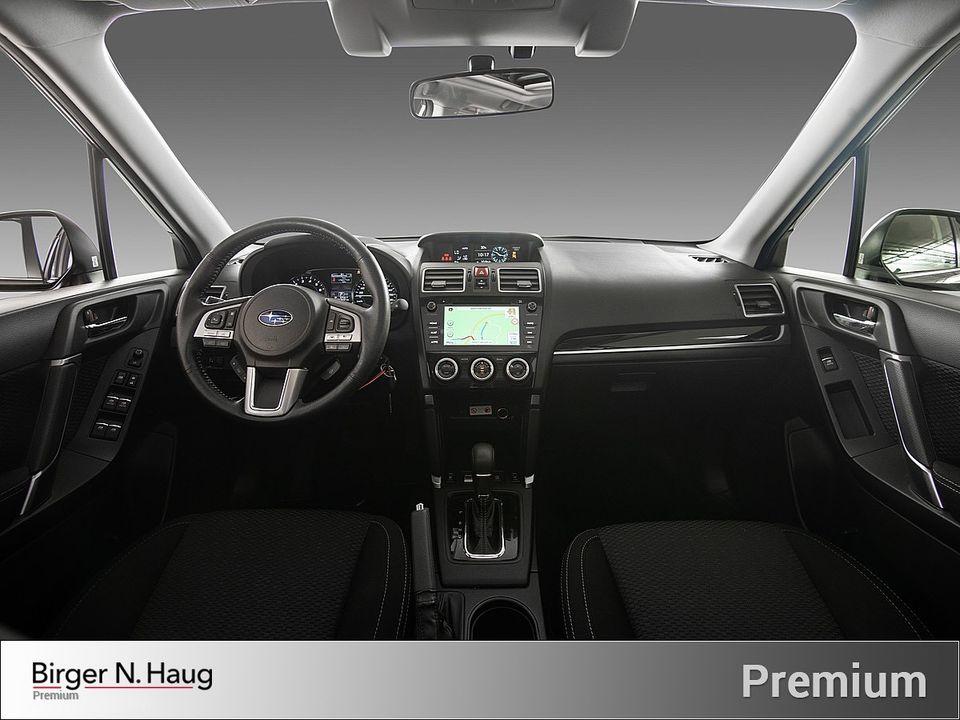 Bilen kommer med det annerkjente Eyesight førerassistent systemet til Subaru som bruker to 3D kamera for å fange opp hva som skjer foran bilen!