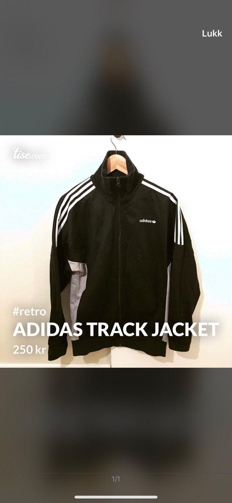 Retro adidas jakke • Tise