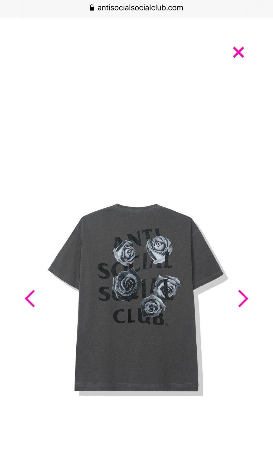 Anti Social Social Club T skjorte | FINN.no