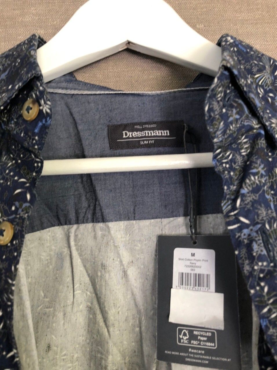 Dressmann skjorte   FINN.no