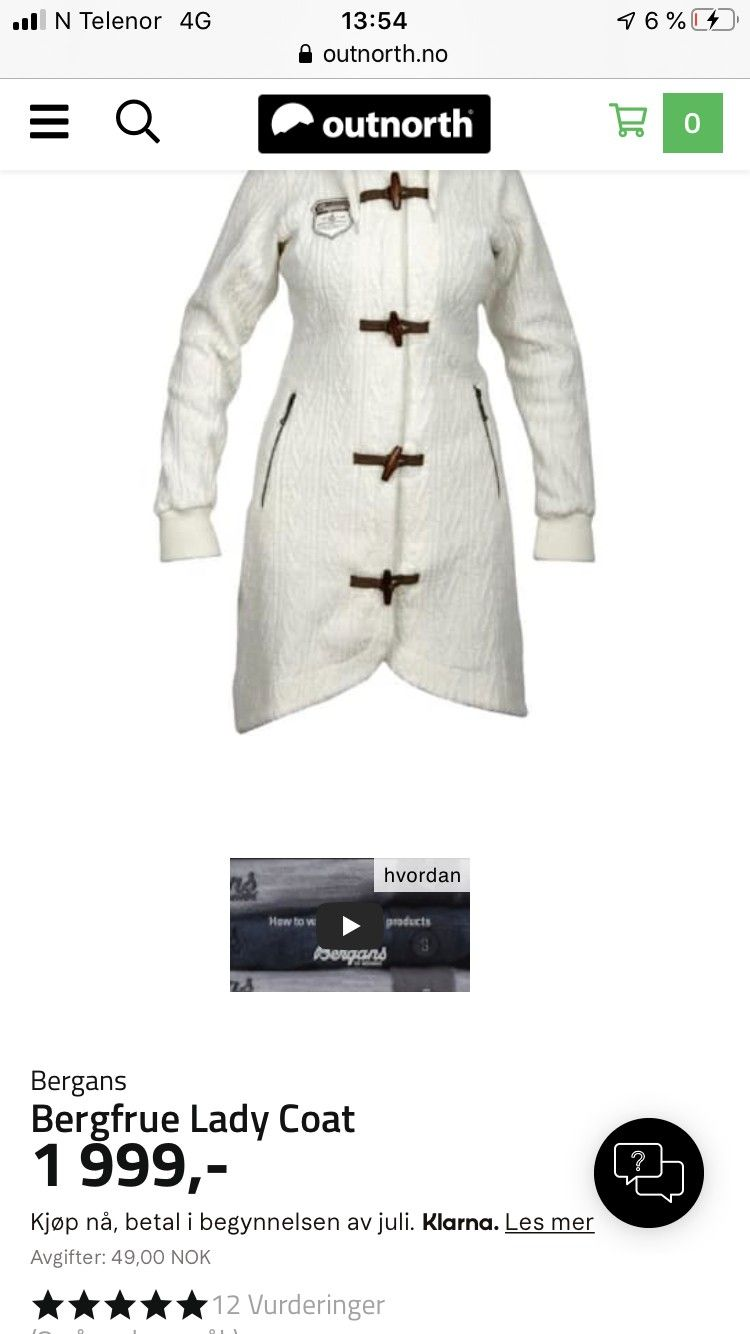 Kjøp Bergans Mandal Lady Jacket fra Outnorth
