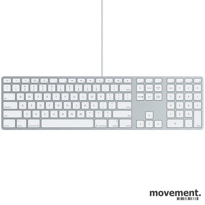 Apple tastatur Magic Keyboard A1243, norsk, pent brukt