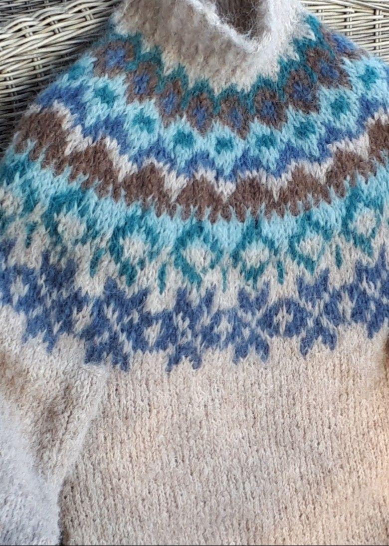 NOVA genser som i Farmen Strl L | FINN.no