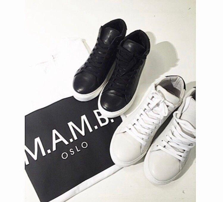 M.A.M.B Oslo skeakers sko str 38 i skinn   FINN.no