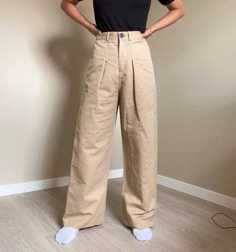 Bukse med vide ben | FINN.no