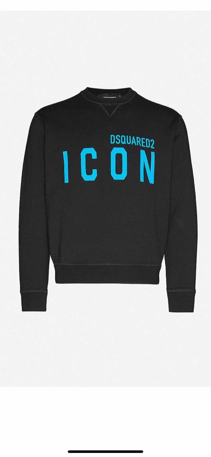 Black Logo sweater  Dsquared2  Gensere - Herreklær er billig