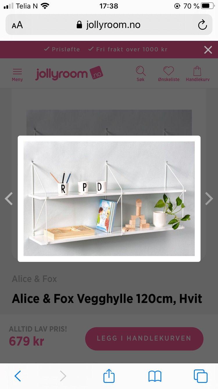 Alice and fox tipitelt | FINN.no