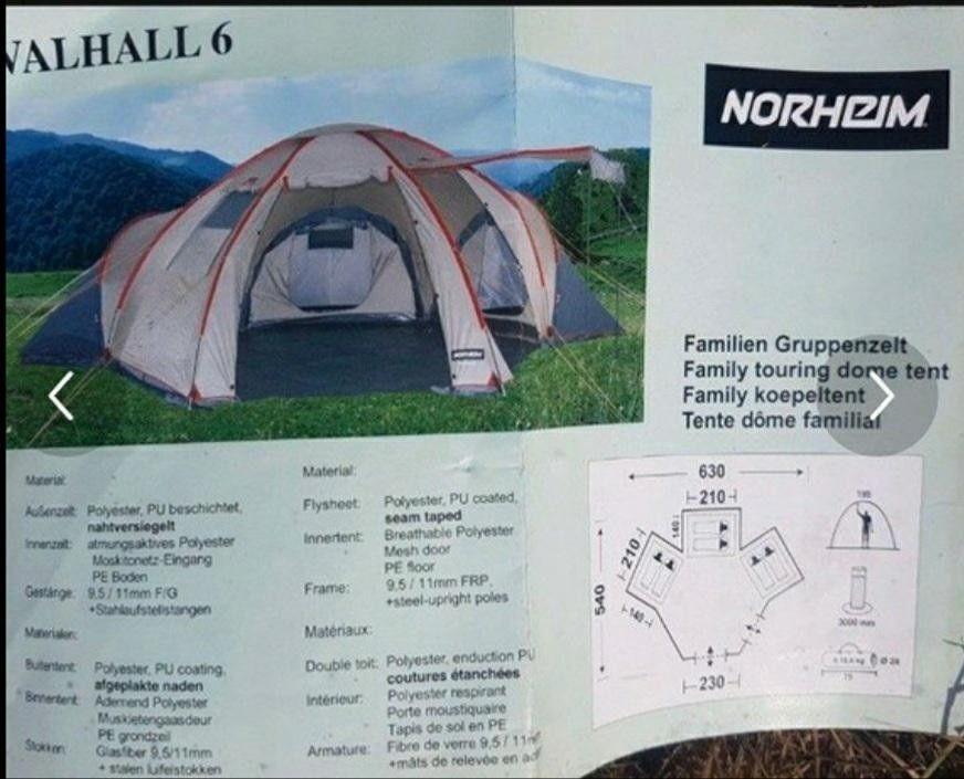 Telt Norheim Vallhal 6 personer   FINN.no