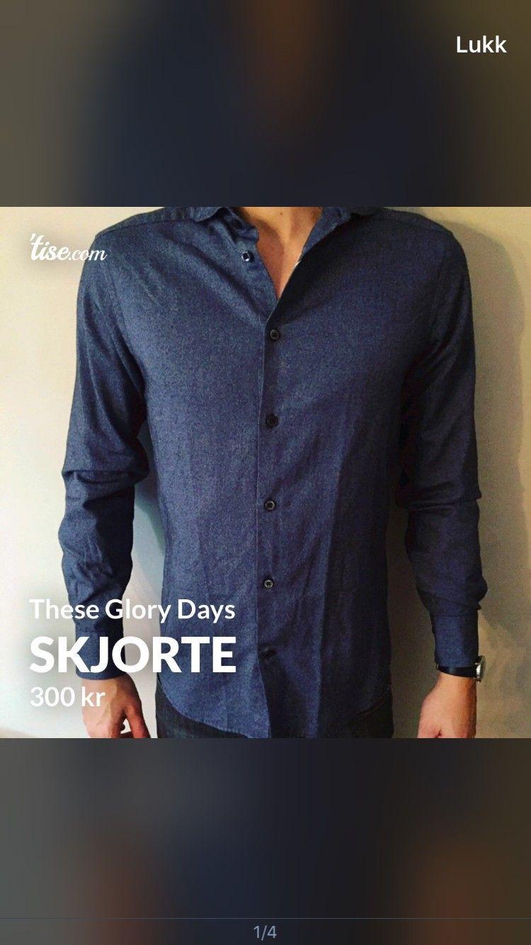 Skjorte fra These Glory Days 200, | FINN.no