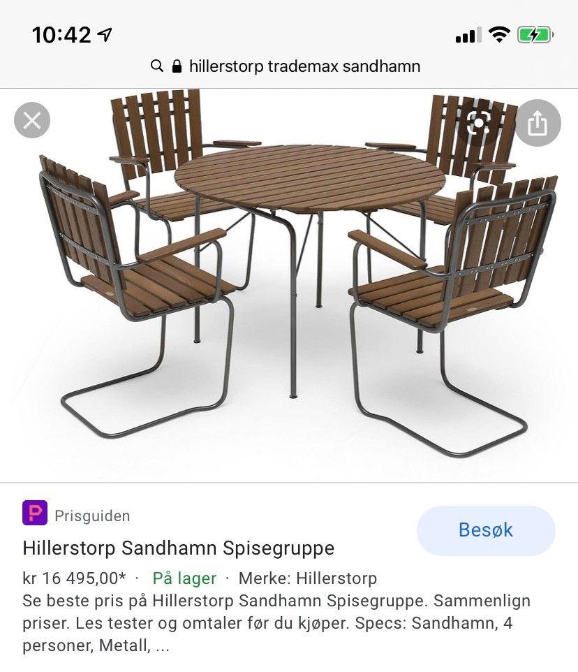 Best pris på møbler Se priser før kjøp i Prisguiden