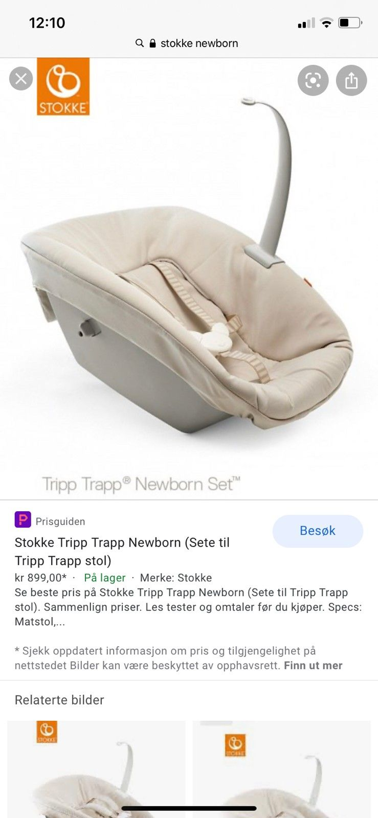 Best pris på Stokke Tripp Trapp Baby Set Se priser før