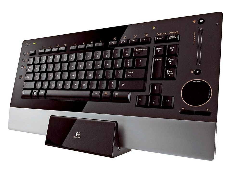 Logitech diNovo Edge trådløst tastatur | FINN.no