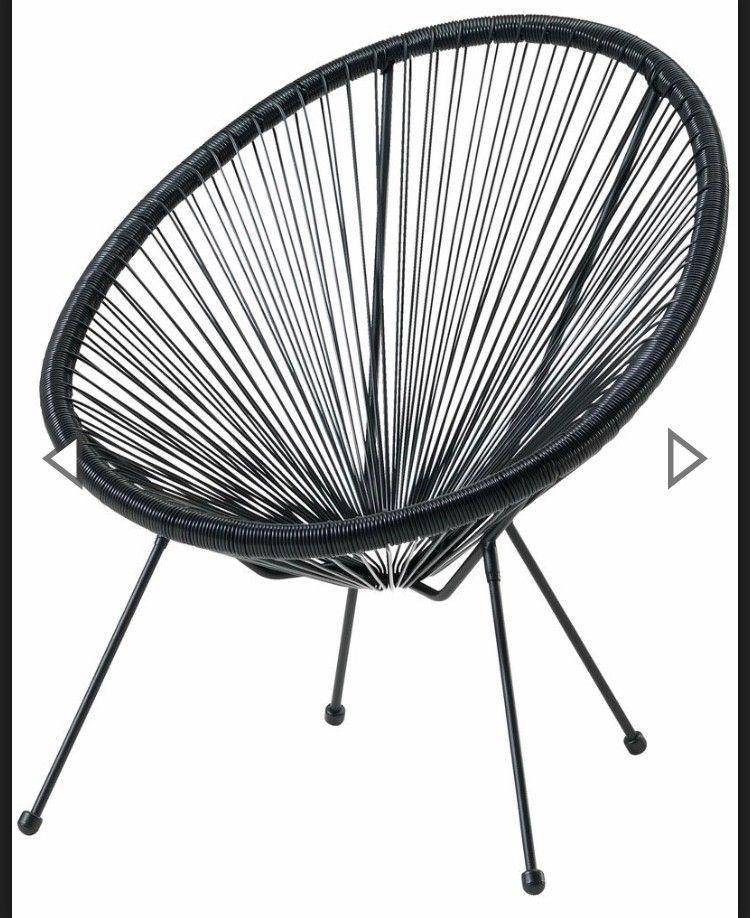 Lounge stoler svart   FINN.no