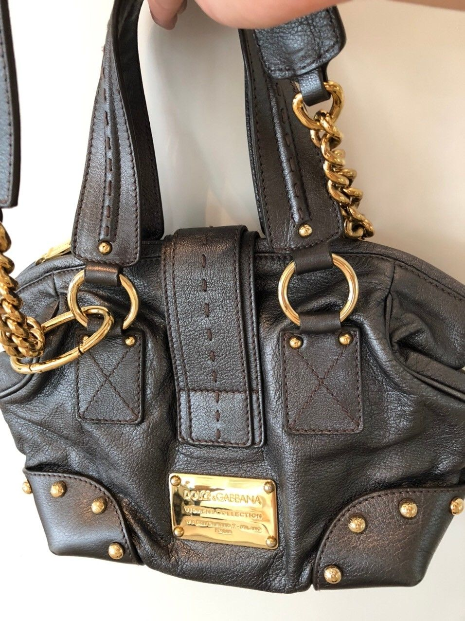 Dolce&Gabbana skinnveske | FINN.no