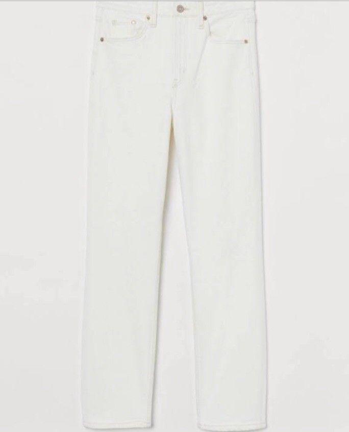 SORT denim bukse. Høy på livet. Fra PM. | FINN.no