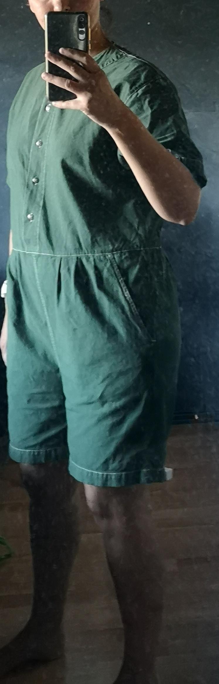 Bruuns bazaar. LOTTE fuskepels kåpe, nydelig grønn farge