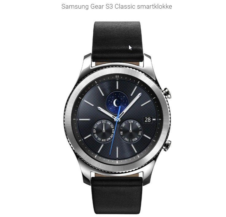 Samsung Gear S3 Frontier smartklokke Smartklokke Elkjøp