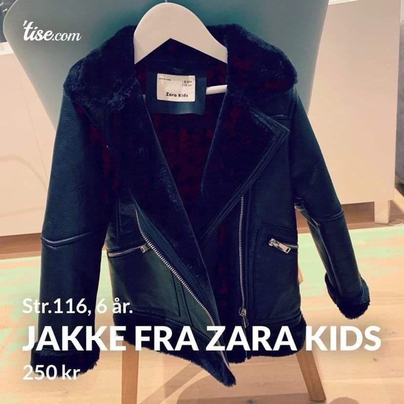 Høstjakke fra Zara • Tise