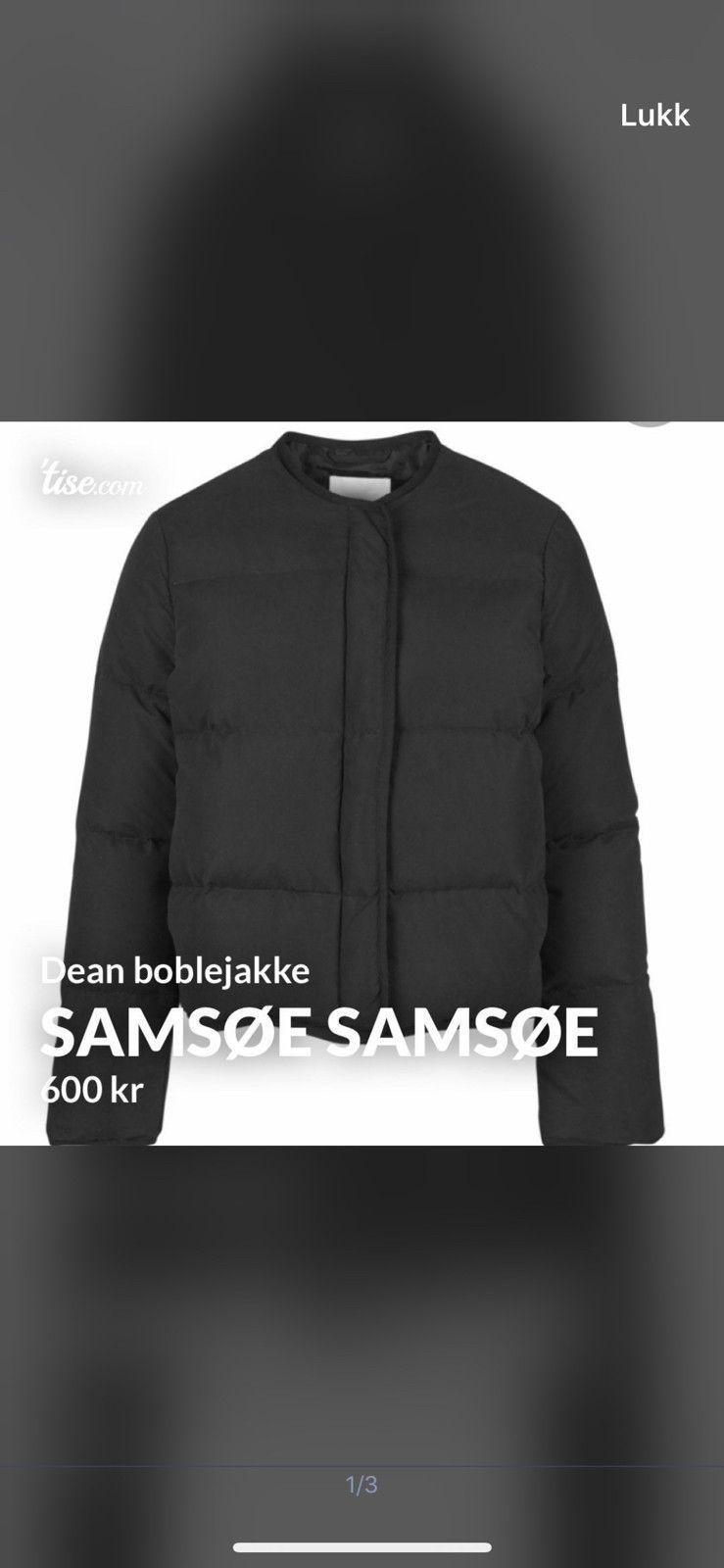 Boblejakke Samsøe Samsøe Dame | FINN.no