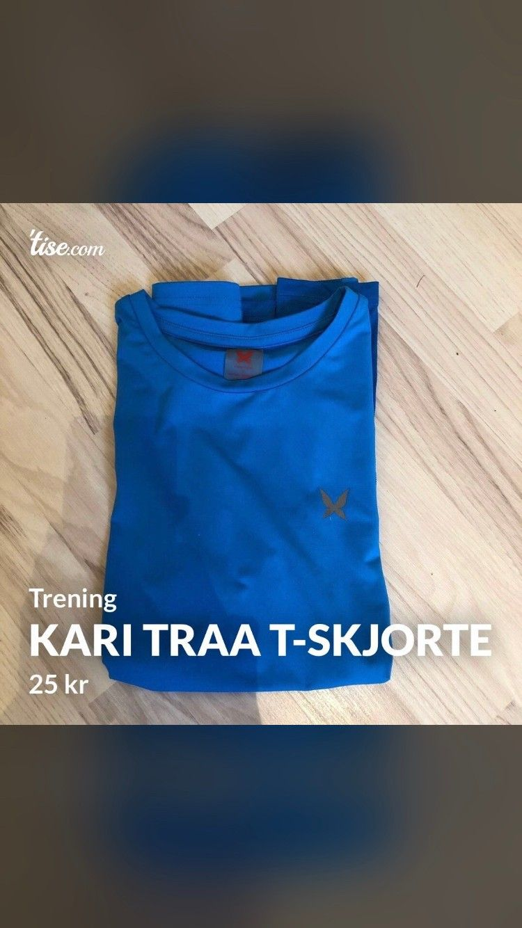 Kari Traa trenings t skjorte | FINN.no