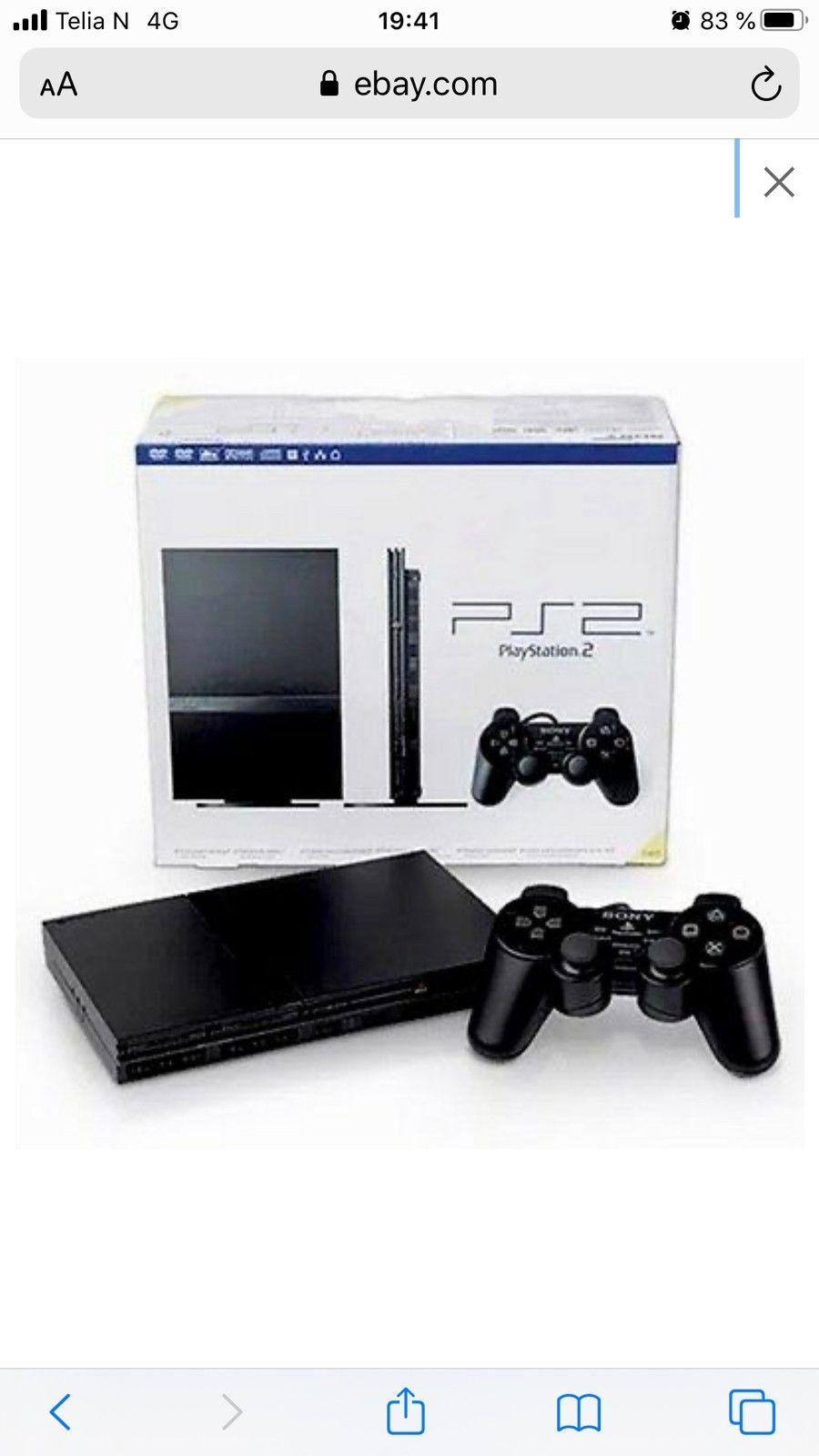 Playstation 2 med utstyr | FINN.no