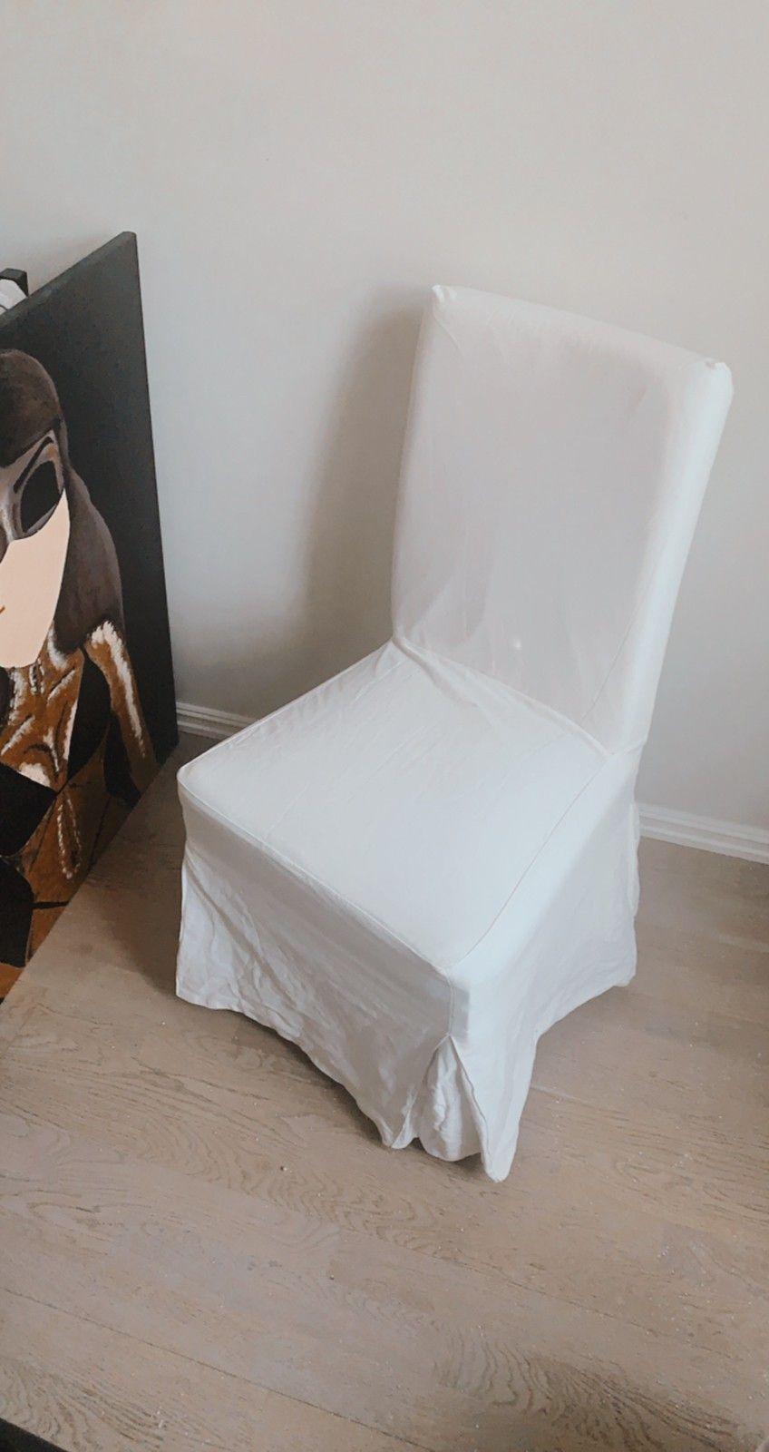 Vintage IKEA stoler hvit malt   FINN.no