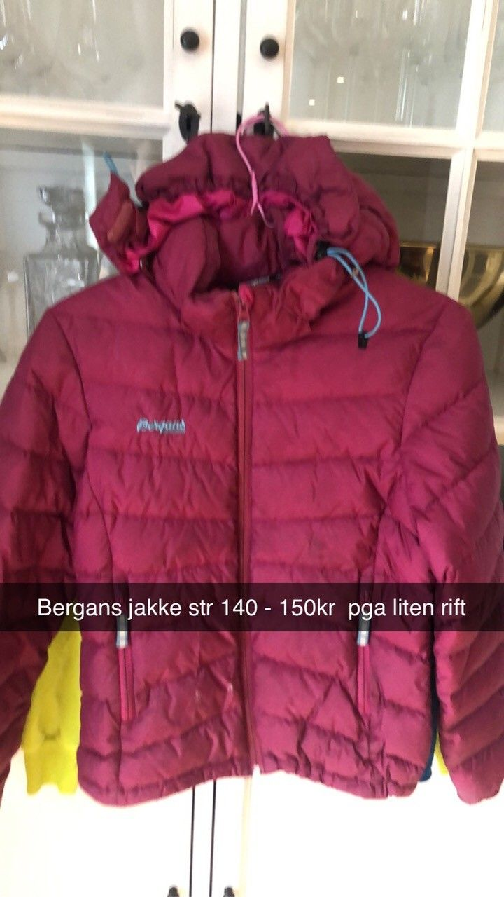 Bergans dunjakke str 128 | FINN.no