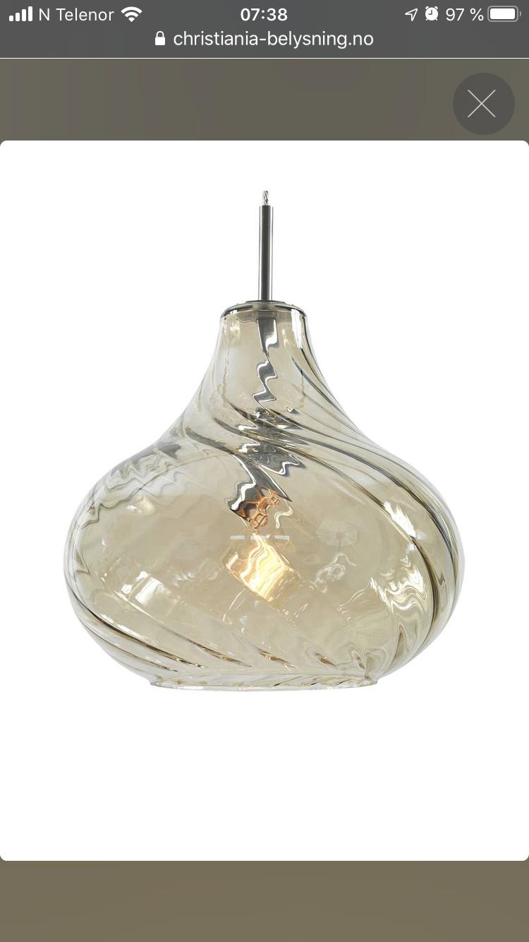 Pendel lampe | FINN.no