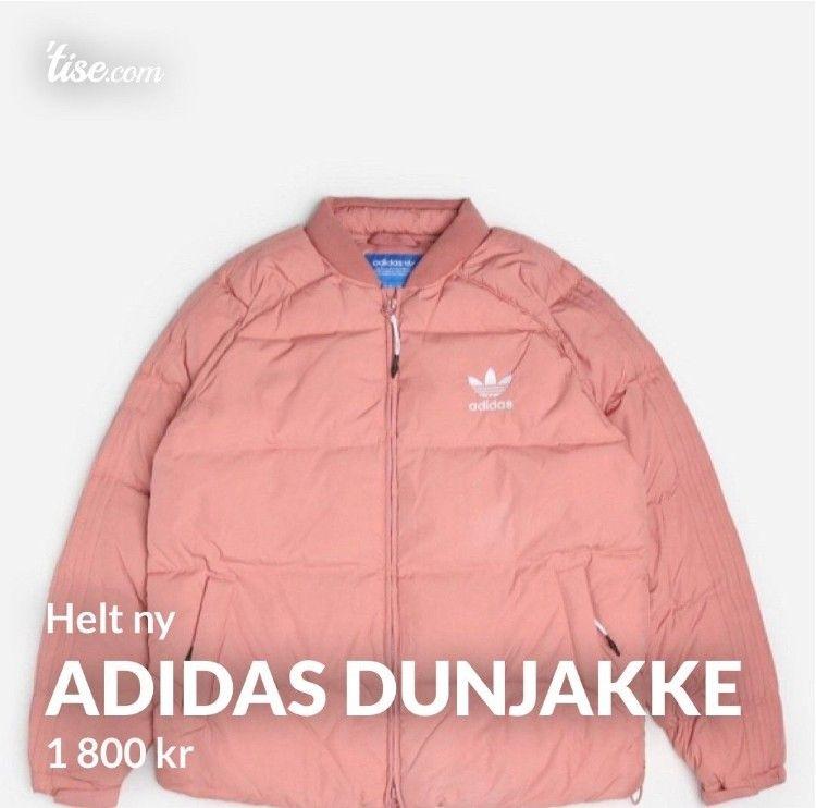 adidas Originals Superstar Down Jacket | Rosa | Dun jakker