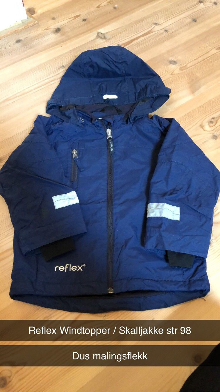 Reflex jakke str 98 til salgs | FINN.no