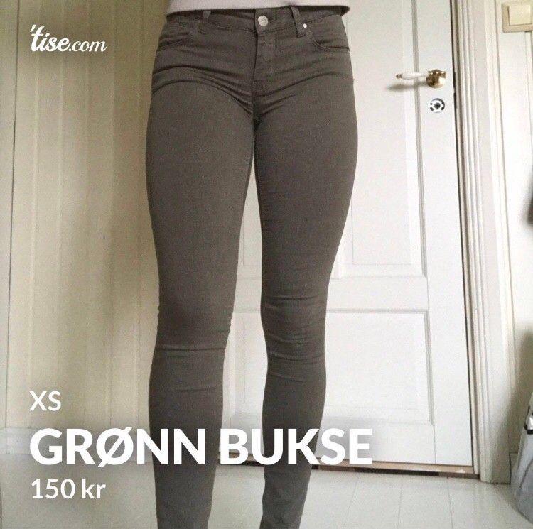 GRØNN BUKSE FRA BIKBOK | FINN.no