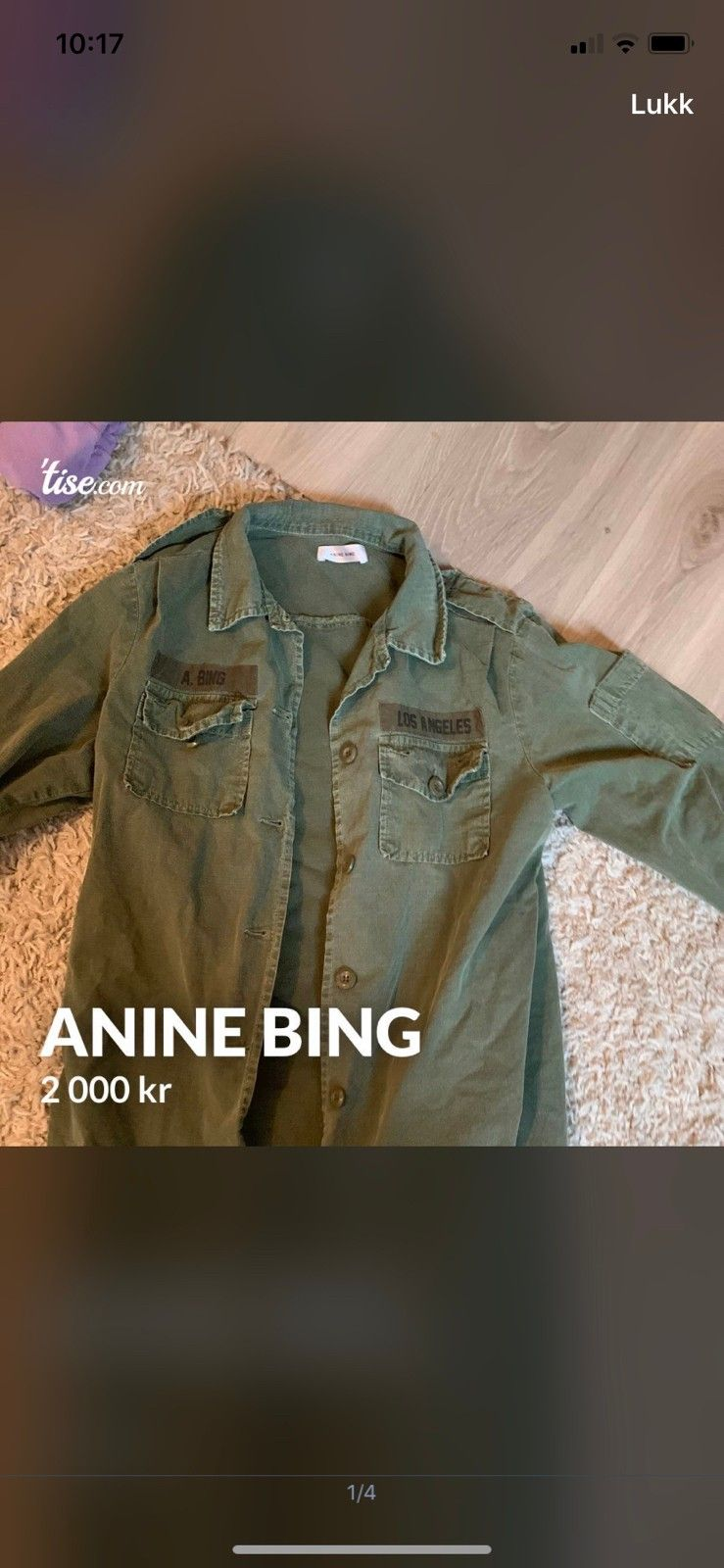 Ny Anine Bing skinnjakke   FINN.no