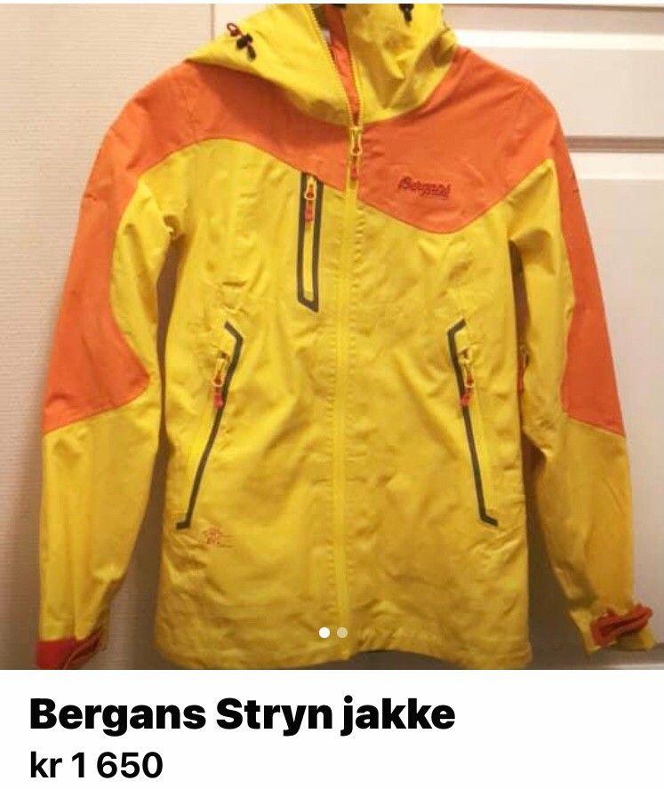 Bergans Stryn dame jk | FINN.no