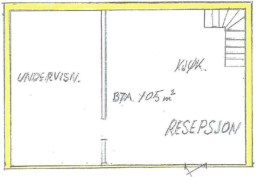 Plantegning 1. etg.